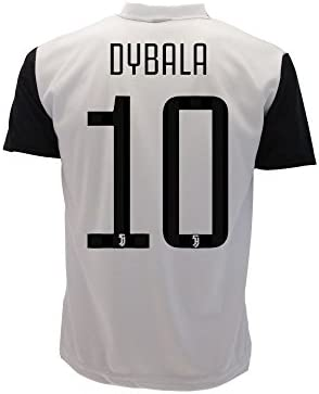 31c59cf31 T-Shirt Jersey Futbol Juventus Paulo Dybala 10 Replica Authorized 2017-2018  Adult Child (Size 2 Years)  Amazon.co.uk  Sports   Outdoors