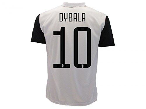 8754c6dfa T-Shirt Jersey Futbol Juventus Paulo Dybala 10 Replica Authorized 2017-2018  Adult Child - Buy Online in KSA. Sports products in Saudi Arabia.