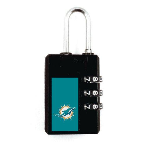 Miami Dolphins Kofferschloss TSA Schloss