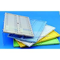 Microscope Slide Folder Blue