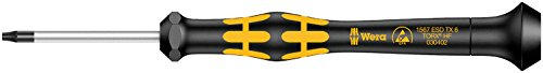 Wera 05030402001 TX6x40mm Kraftform 1567 Micro Torx Driver with Holding Function