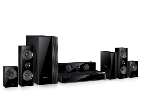 Samsung 5.1 Channel 1000 Watts wireless surround sound 3D Blu-ray Home Theater System by Samsung (Image #2)