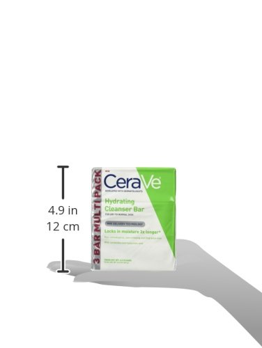 301872482032 - CeraVe Facial Cleanser, Hydrating Cleansing Bar, 13.5 Ounce carousel main 5