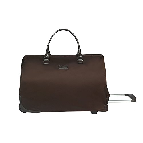 lipault-paris-lady-plume-foldable-wheeled-weekend-bag-carry-on-luggage-chocolate