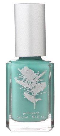 Nail Polish #650 Dorothy Palm By Priti (Matted Light Blue)