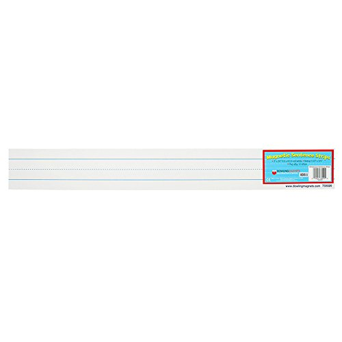 Dowling Magnets DO-733020BN 24 x 3 in. Magnet Sentence Strips - 10 per Pack - Pack of 2