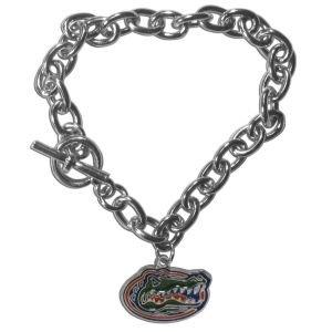 Siskiyou NCAA Florida Gators Charm Chain Bracelets, 7.5-Inch