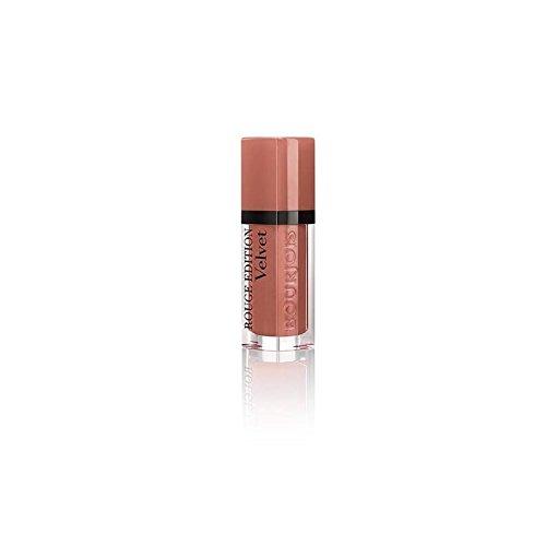 ブルジョワルージュのベルベットクールブラウン x4 - Bourjois Rouge Velvet Cool Brown (Pack of 4) [並行輸入品] B0727R5KY5