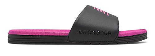 (ニューバランス) New Balance 靴?シューズ レディースサンダル NB Pro Slide Black with Azalea ブラック アザレア US 8 (25cm)