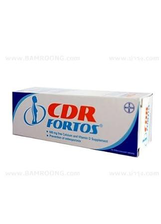 Amazon.com: CDR fortos Naranja Sabor Effervescent Tablets de ...
