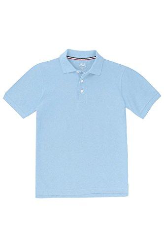 light blue polo shirt - 9