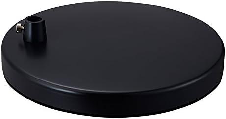 Phive 7.8 Round Heavy Desk Lamp Base Suitable for LK-1 CL-2 Architect Swing Arm LED Desk Lamp