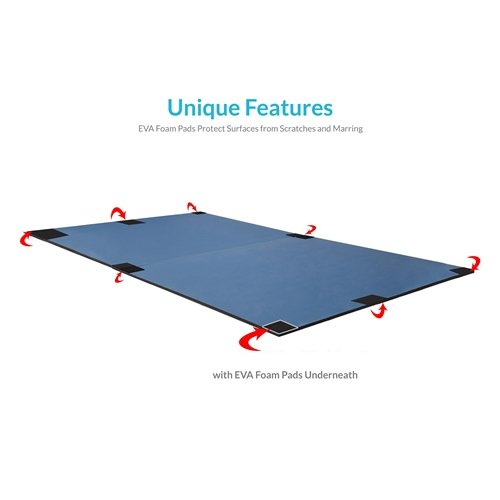 Harvil Table Tennis Conversion Top with FREE Net and Posts by Harvil (Image #4)