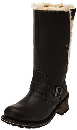 """Caterpillar Anna 13"""" Black Womens Boots, Size 6"""