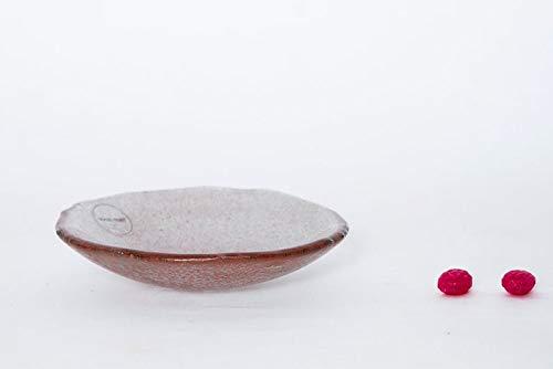 2 Small Glass Bowls Colorsplash Handmade