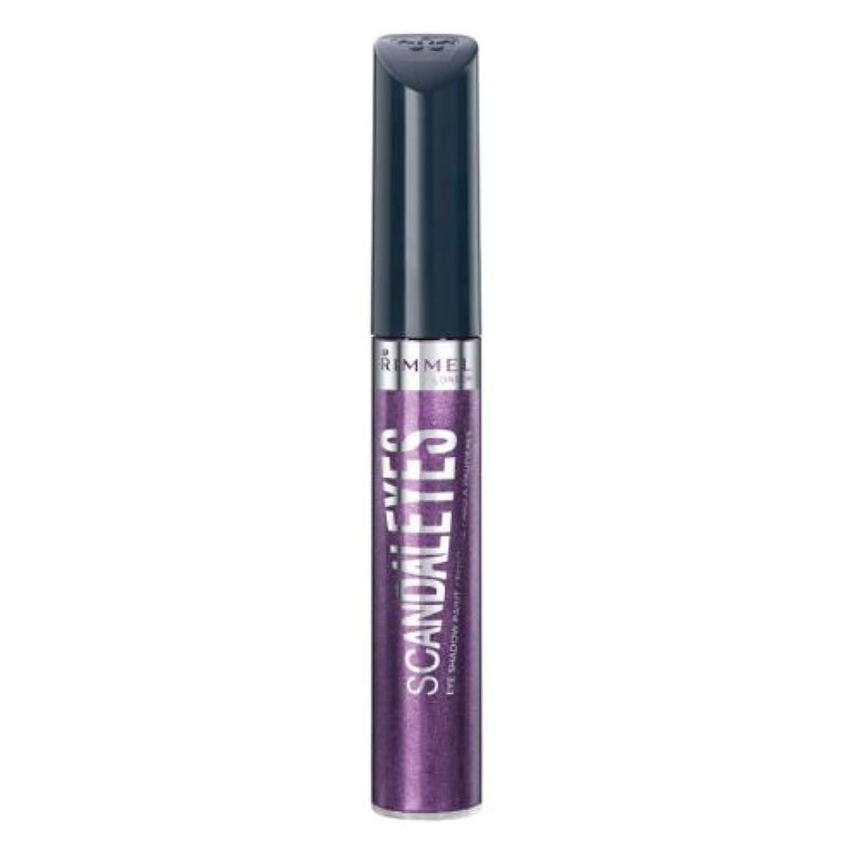 公爵夫人プロット織る(3 Pack) RIMMEL LONDON Scandaleyes Shadow Paint - Manganese Purple (並行輸入品)