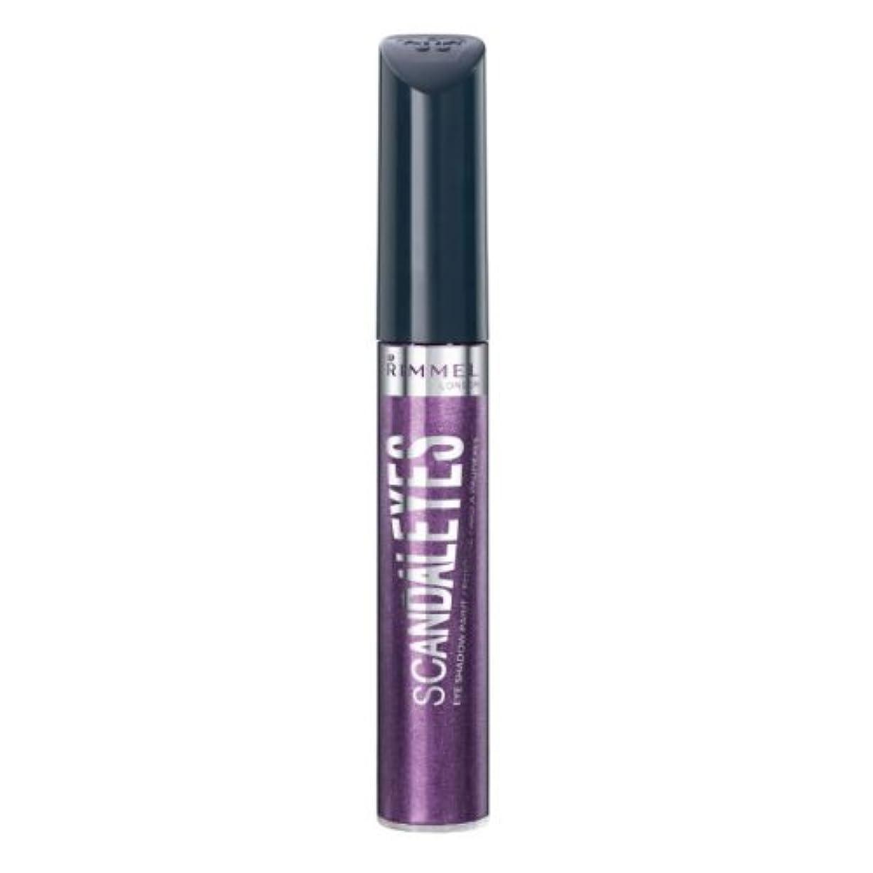 司教円周判読できないRIMMEL LONDON Scandaleyes Shadow Paint - Manganese Purple (並行輸入品)
