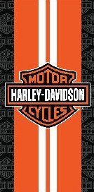 - Harley Davidson Towel Racing Stripes Towel Biker Wonder Beach Towel Hd 23