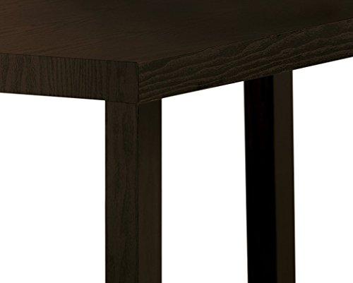 Dhp Parsons Modern Coffee Table Black Wood Grain Buy