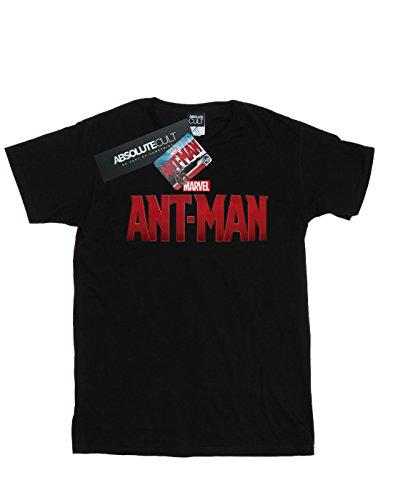 man Fit Logo Novio Movie Del Marvel Mujer Ant Camiseta Negro E8qxpOw