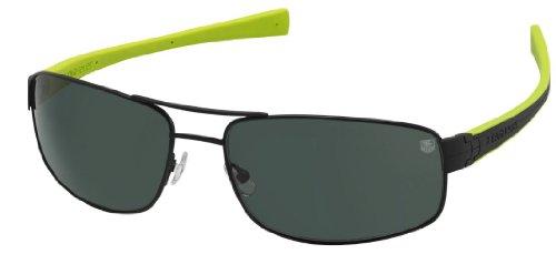 - Tag Heuer Lrs 0251 Sunglasses 309 Black/Green/Precis Green New