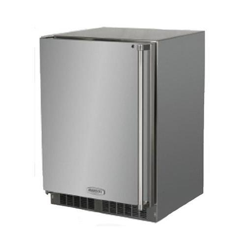 AGA Marvel MO24RAS1LS Outdoor Refrigerator with Lock, Left Hinge Stainless Steel Door, -