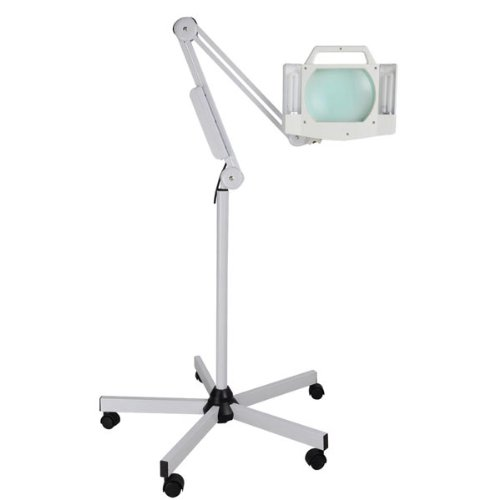 5x-diopter-facial-5-x-7-magnifying-lens-rotate-magnifier-adjustable-height-arm-floor-lamp-110v-w-5-w
