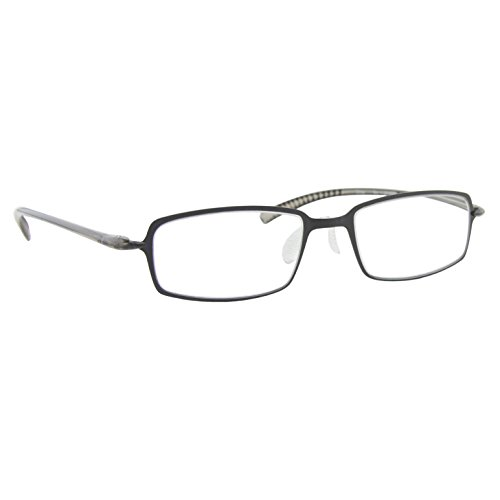 Reading Glasses _ Best Single Gray for Men and Women _ Have a Stylish Look and Crystal Clear Vision When You Need It! _ Comfort Flex Arms & Dura-Tight Screws - Ban Gray