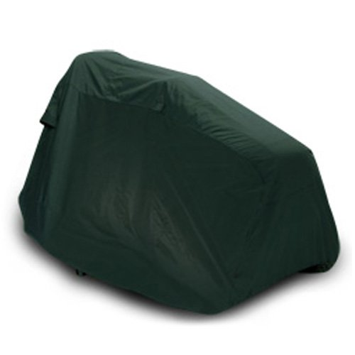 "CarsCover Lawn Mower Garden Tractor Cover Fits Decks up to 54"" – Olive Green"