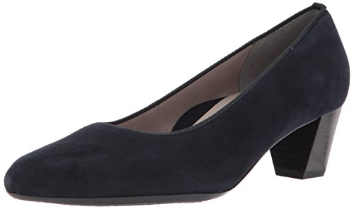 ara Women's Kelly Pump, Blue Suede, 8 M US ()