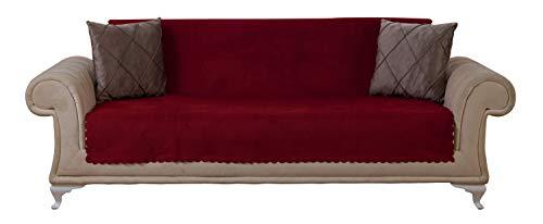 (Chiara Rose Couch Covers for Dogs Sofa Cushion Slipcover 3 Seater Furniture Protectors Futon Cover, Sofa, Diamond)