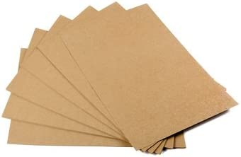 10 Blätter Kraftpapier Naturkarton Kraftkarton Karton Karten zum Basteln