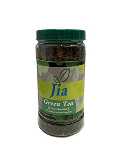 JIA Green Tea Tulsi Flavor Loose Leaves 250 GMS