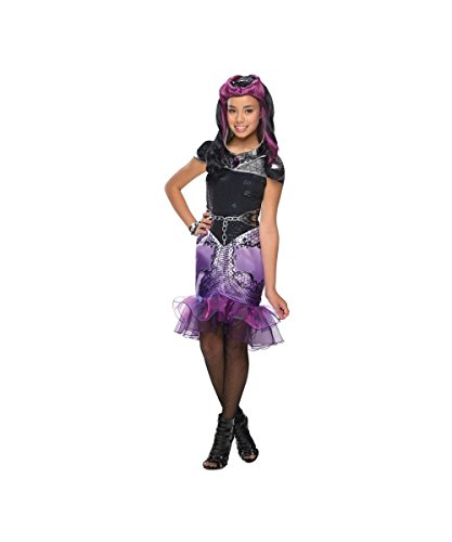 Ever After High Girls Raven Queen Costumes (Ever After High Raven Queen Girls Costume Malefic Queen Fairy Tale)