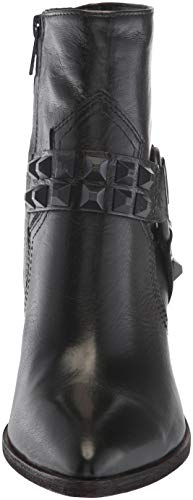 Boot Deco Short Harness Women's Black Stud Flynn Ankle FRYE qwEvX0p