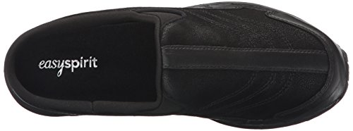 Easy Spirit Women's Traveltime Clog, Black/Black Leather, 8 W US by Easy Spirit (Image #8)