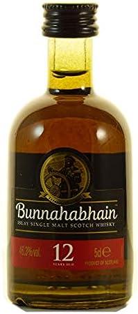 Bunnahabhain Bunnahabhain 12 Years Old Islay Single Malt Scotch Whisky 46,3% Vol. 0,05L - 50 ml