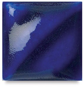 AMACO F Lead-Free Non-Toxic Glaze, 1 pt Plastic Jar, Royal Blue - Glaze Amaco Blue