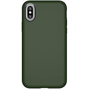 best website 3bff2 0bdcf Speck Products 103130-6586 Presidio Case for iPhone XS/iPhone X, Dusty  Green/Dusty Green