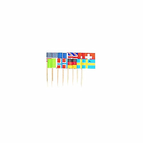 International Flag Picks asstd designs product image