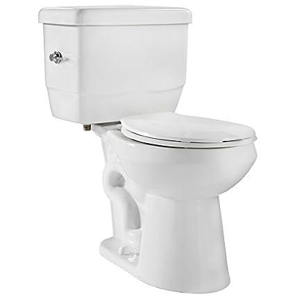 Niagara 22001WHCO1 EcoLogic 1.28 GPF Toilet with Round Bowl and Tank ...