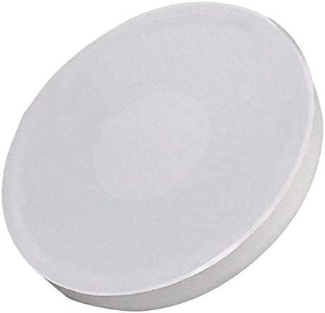 5 x Gancio magnetico bianco laccato calamita gancio fino a 24 chili diametro 63 mm calamita tonda