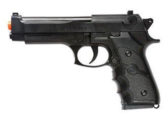 Black Airsoft Pistol - BBTac BBTac-M757B 140 FPS Spring Airsoft Gun, Black
