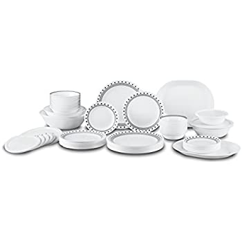 Corelle City Block Dinnerware Set (74-Piece Service for 12)  sc 1 st  Amazon.com & Amazon.com: Corelle City Block Dinnerware Set (74-Piece Service for ...
