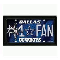Dallas Cowboys #1 Fan Clock