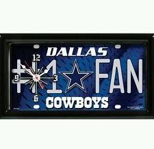 (Dallas Cowboys #1 Fan Clock)
