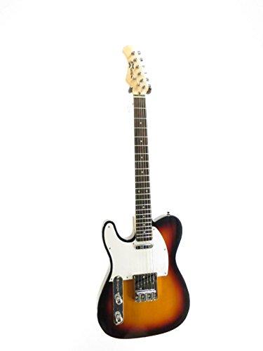 Effin Guitars model Smelly/SB-L Lefty Sunburst Finish Electric solid body Guitar