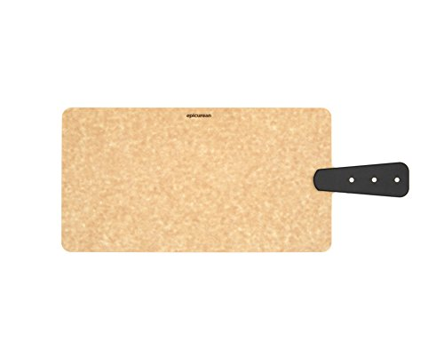 Epicurean 008-R14070102 Cutting and Serving Board with Brass