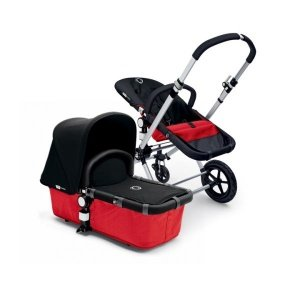 Bugaboo Cameleon Tailored Fabric Set - Coral Red