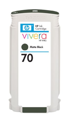 606 Matte - HP 70 (C9448A) Matte Black Original Ink Cartridge